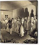 Dancing Party At Kagha-choura Canvas Print