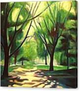 Dancing Shadows Canvas Print