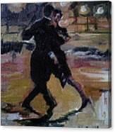 Danct The Night Away Canvas Print
