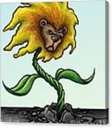 Dande-lion Canvas Print