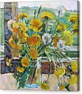 Dandelions Ordinary Canvas Print