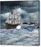 Danger Ahead Canvas Print