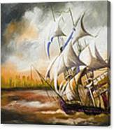 Dangerous Tides Canvas Print