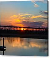 Daniel Island Sunset Canvas Print