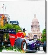 Daniel Ricciardo Of Australia Canvas Print