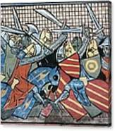 Danish Defeat. Illustration Canvas Print