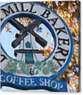 Danish Mill Bakery In Solvang California Canvas Print
