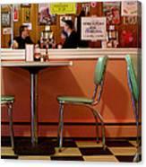 Dan's Diner Canvas Print
