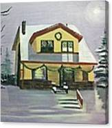 Dan's House Canvas Print