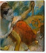 Danseuse A L'eventail Canvas Print