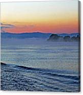 Danube Dawn Canvas Print