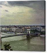 Danube River Canvas Print