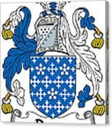 Darcy Coat Of Arms II Irish Canvas Print