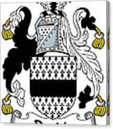 Dardis Coat Of Arms Irish Canvas Print