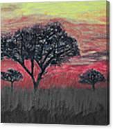 Dark Africa Canvas Print