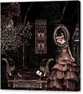 Dark Dream II Pretty As A Picture Canvas Print