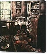 Dark Kitchen Canvas Print