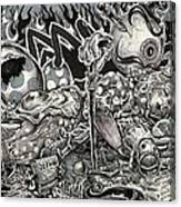 Dark Lullaby Canvas Print