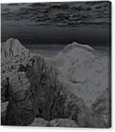 Dark Planet Canvas Print