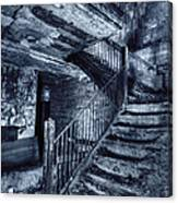 Dark Staircase Canvas Print