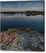 Darky Lake Canvas Print
