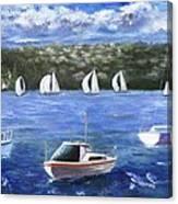 Darling Harbor Canvas Print
