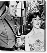 Darling Lili, From Left, Rock Hudson Canvas Print