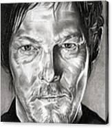 Daryl Dixon - The Walking Dead Canvas Print