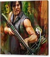 Daryl Dixon Walker Killer Canvas Print