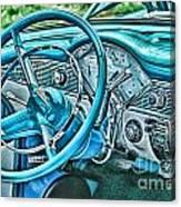 Dashboard-hdr Canvas Print