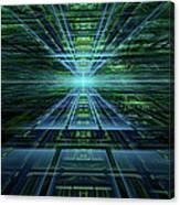 Data Pathways Canvas Print