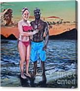 Date Night In Heaven Canvas Print