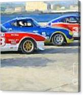 Datsun Z Racers At Sebring Canvas Print
