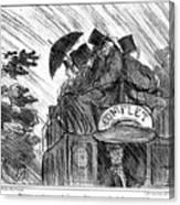 Bus, 1856 Canvas Print