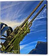 Dauntless Tail Gun Canvas Print