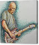 Dave Gilmour Canvas Print