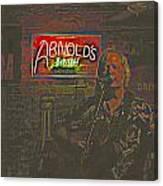 Dave Hawkins Abstract Canvas Print