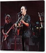 Dave Matthews Live Canvas Print