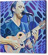 Dave Matthews Pop-op Series Canvas Print