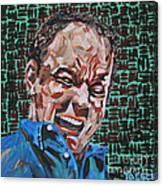 Dave Matthews Portrait Canvas Print