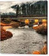 Daveys Bridge Canvas Print