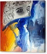 David Abstract Version Canvas Print