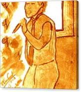 David Archuletta Gold Canvas Print