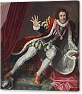 David As Richard IIi, Illustration Canvas Print