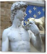 David At Palazzo Canvas Print