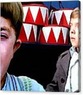 David Bennent in the film The Tin Drum Canvas Print