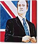 David Cameron 2010 Canvas Print