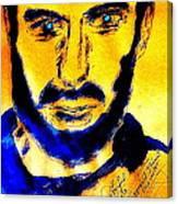 David Copperfield Illusionist Gold 2 Canvas Print