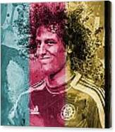 David Luiz - C Canvas Print