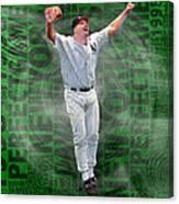 David Wells Yankees Perfect Game 1998 Canvas Print